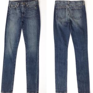 New! J. CREW | Highrise Skinny Blue Jeans 27 Tall